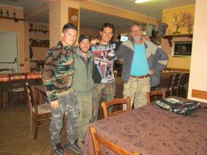 Gli amministratori del Gruppo: Cesidio, Fabrizio, Alessandro e Roberto